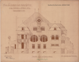(c) Stadtarchiv Karlsruhe, 8/BOA P108